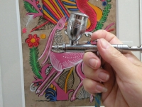 Airbrush – malba nástřikem